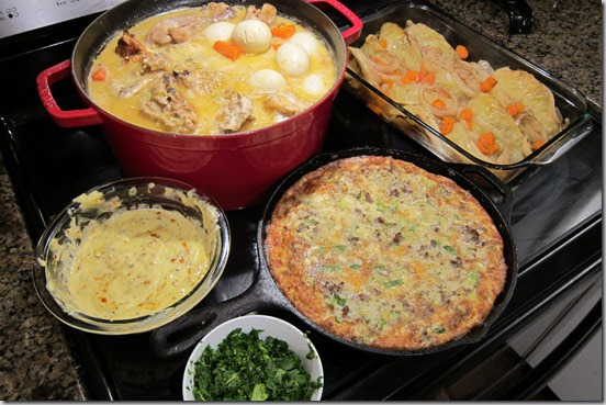 Batch-Cooking-March-18-2012-coq-au-vin-and-omelette