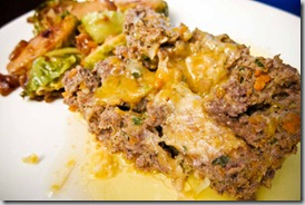 Cheesy-meatloaf-with-brussels