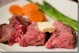 Prime-Rib-with-Yams-and-Asparagus