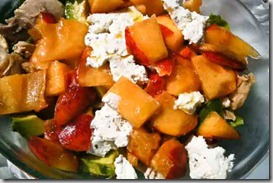 Salad---chicken-and-peaches