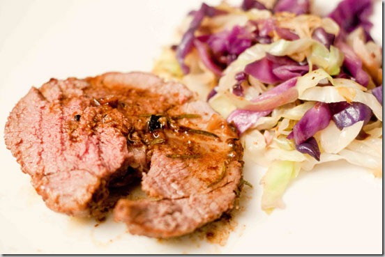 Roasted-Lamb-with-Sauteed-Cabbage