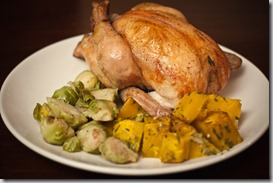 Cornish-Game-Hen-with-Brussels-Sprouts-and-Squash