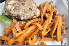 Grassfed-burger-with-yam-fries