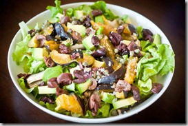 Salad-with-Sardines,-Plums,-Avocados,-Olives,-Capers
