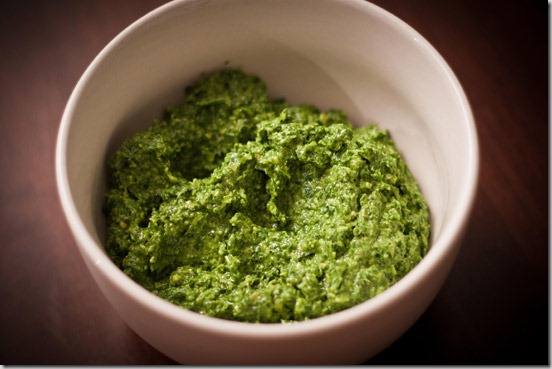 Basil-Walnut-Pesto