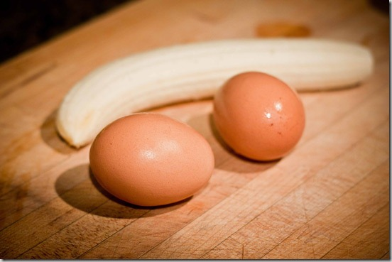 Eggs-and-banana