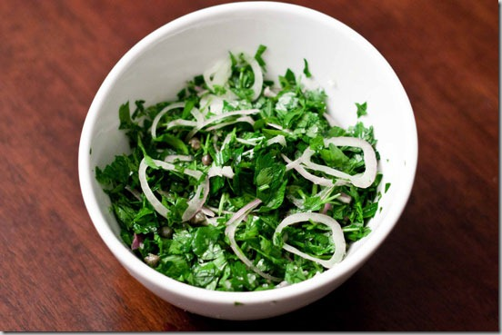 Parsley-Shallot-Salad