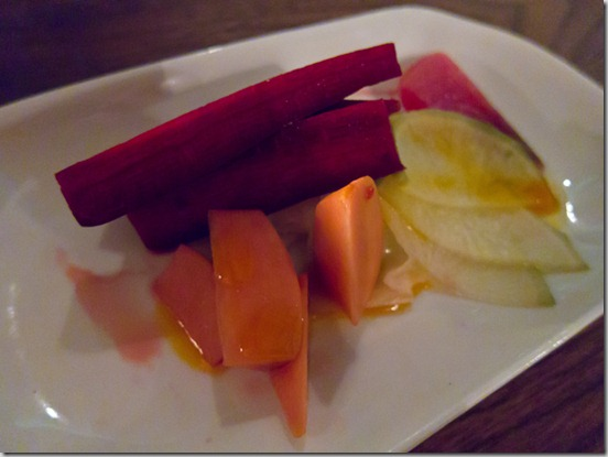 Bao Bei Chinese Brasserie Pickles