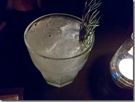 The Keefer Bar Rosemary Gimlet