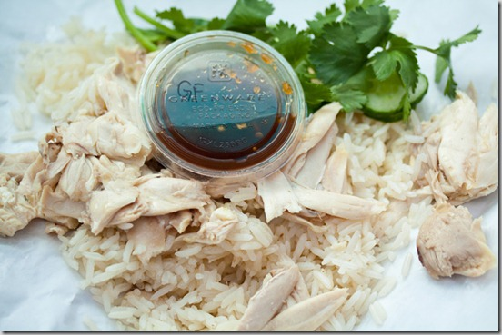 Nong's Khao Man Gai Chicken and Rice