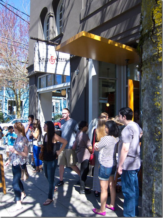 Salt & Straw Exterior Line-Up