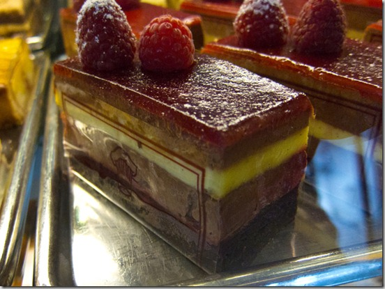St. Honore Chocolate Raspberry Delice