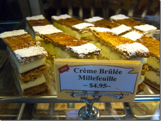 St. Honore Creme Brule Millefeuille