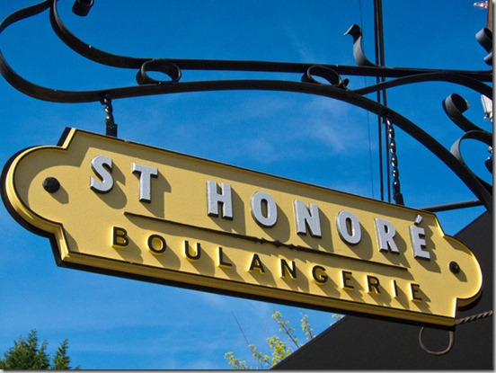 St. Honore Sign