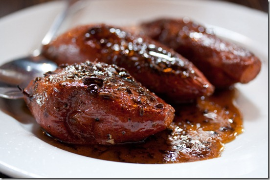 Tasty n Sons Glazed Yams with cumin-maple