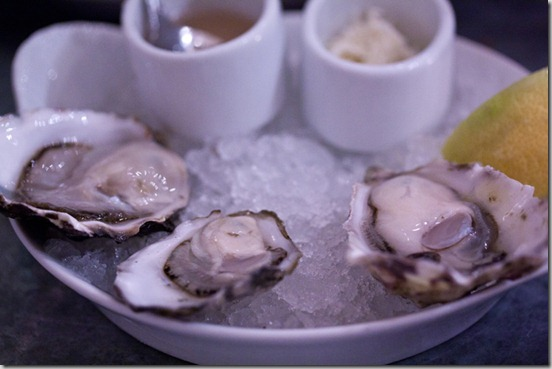 The Walrus and the Carpenter raw oysters