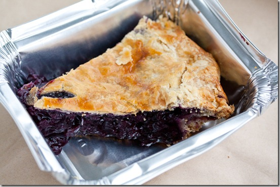 Acme Cafe Blueberry Pie