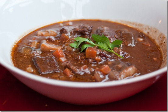 Cafe Regalade Beef Bourguignon