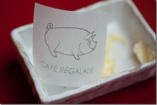 Cafe Regalade Butter