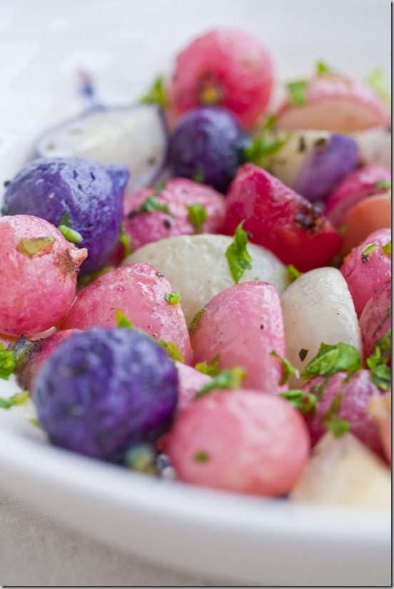 Roasted Radishes 3