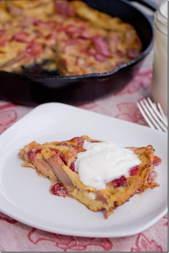 Strawberry Rhubarb Omelette 3