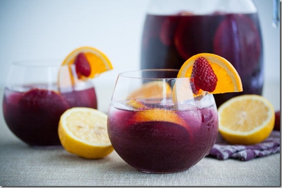 Red Wine Sangria with Strawberries 2