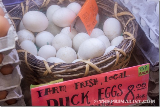 Pike Place Creamery Duck Eggs