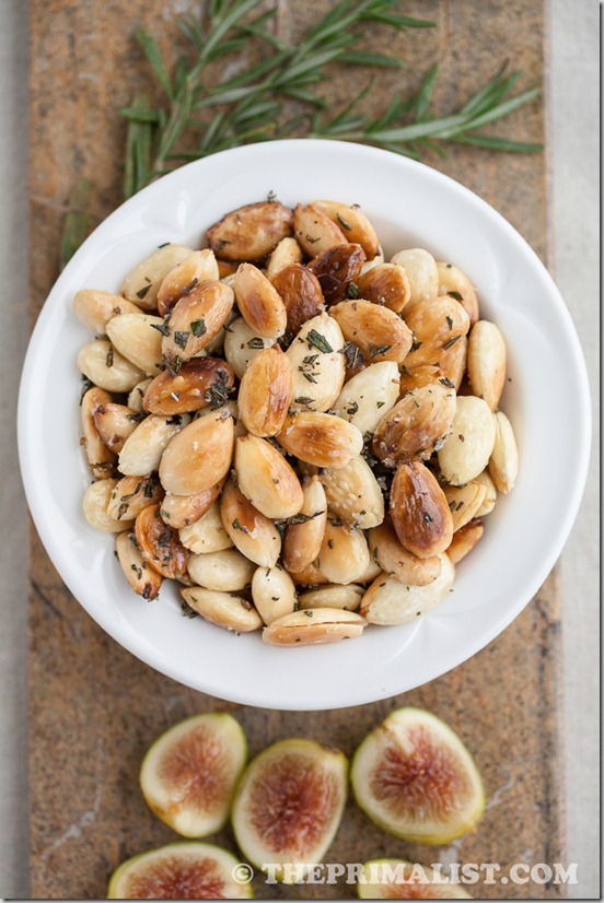 Rosemary Fried Almonds 2