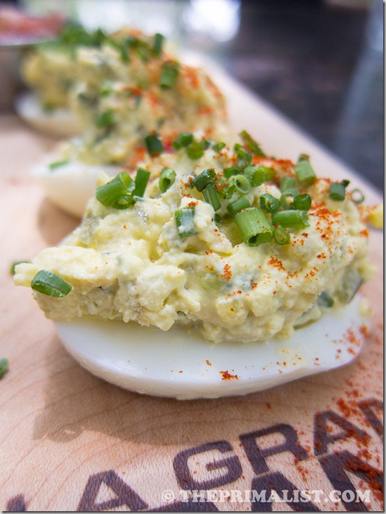 Chelsea's Kitchen Deviled Eggs