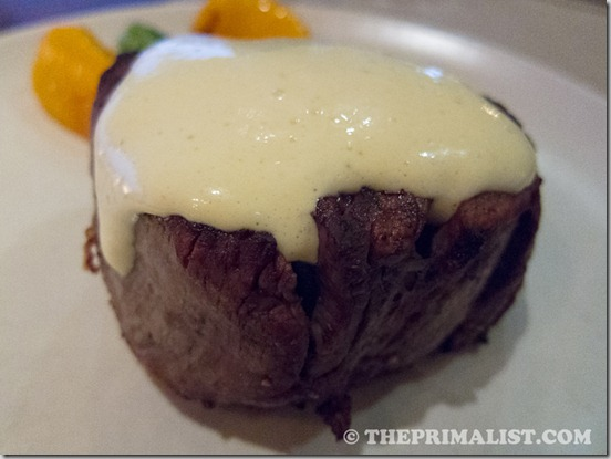 J&G Steakhouse Filet Mignon with Bearnaise Sauce