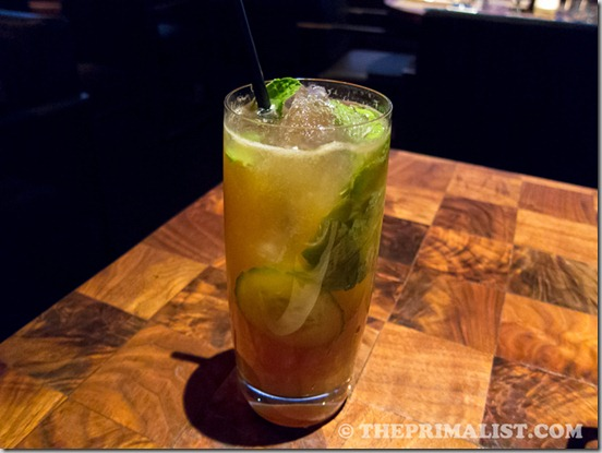 J&G Steakhouse Pimm's Cup