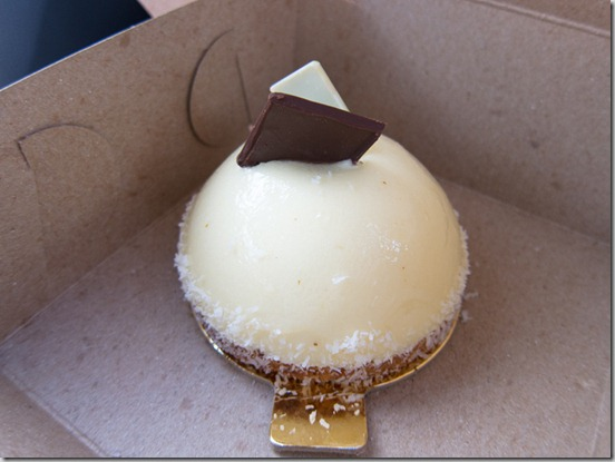 Sandrine French Pastry and Chocolate Fresh Pineapple Mousse and Coconut