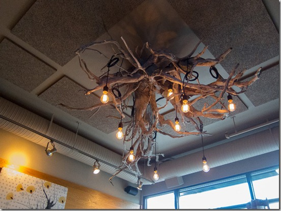 Waterfront Restaurant and Wine Bar Chandelier