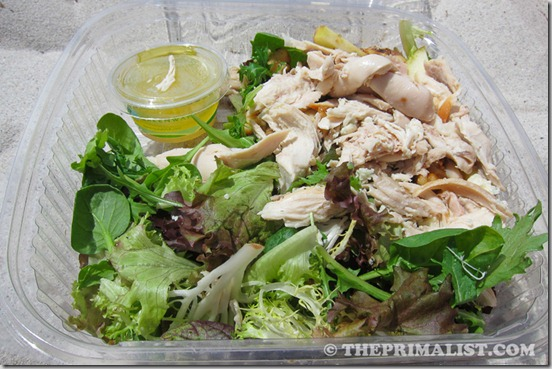 Carmel Belle salad with Chicken
