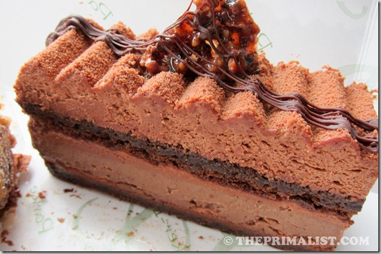 Parker-Lusseau triple chocolate cake